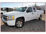 2008 Summit White Chevrolet Silverado 1500 LT Extended Cab #77555750