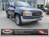 Indigo Blue Metallic GMC Yukon in 2002