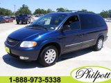 2003 Patriot Blue Pearlcoat Chrysler Town & Country LXi #7749844