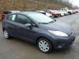 2013 Violet Gray Ford Fiesta SE Hatchback #77611221