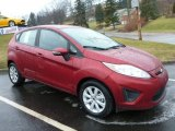 2013 Ruby Red Ford Fiesta SE Hatchback #77611220