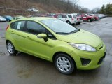 2013 Lime Squeeze Ford Fiesta SE Hatchback #77611218