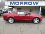 2014 Ruby Red Ford Mustang GT Premium Coupe #77611209