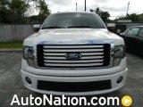 2011 White Platinum Metallic Tri-Coat Ford F150 Limited SuperCrew 4x4 #77611343