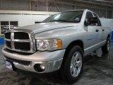 2004 Bright Silver Metallic Dodge Ram 1500 SLT Quad Cab #7741408