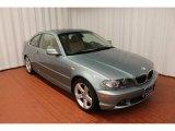 2004 Grey Green Metallic BMW 3 Series 325i Coupe #77611167