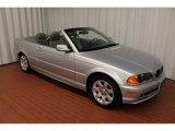 2001 Titanium Silver Metallic BMW 3 Series 325i Convertible #77611166