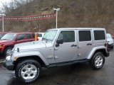 2013 Billet Silver Metallic Jeep Wrangler Unlimited Sahara 4x4 #77611324