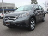2012 Polished Metal Metallic Honda CR-V LX 4WD #77611155