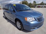 2012 Chrysler Town & Country Crystal Blue Pearl