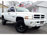 2001 Bright White Dodge Ram 1500 Sport Club Cab 4x4 #77611396