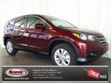 2013 Basque Red Pearl II Honda CR-V EX #77611148