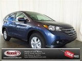 2013 Twilight Blue Metallic Honda CR-V EX #77611145
