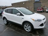 2013 White Platinum Metallic Tri-Coat Ford Escape Titanium 2.0L EcoBoost 4WD #77611228