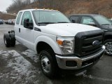 2013 Ford F350 Super Duty XL SuperCab 4x4 Chassis Data, Info and Specs
