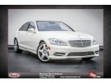 2013 Diamond White Metallic Mercedes-Benz S 550 Sedan #77631073