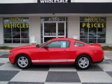 2011 Race Red Ford Mustang V6 Coupe #77635303