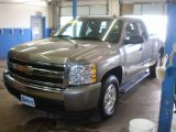 2007 Graystone Metallic Chevrolet Silverado 1500 LT Z71 Extended Cab 4x4 #77635607
