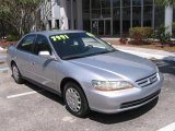 2002 Satin Silver Metallic Honda Accord LX Sedan #7736340