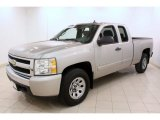 2008 Chevrolet Silverado 1500 Work Truck Extended Cab 4x4 Front 3/4 View