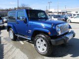 2010 Jeep Wrangler Deep Water Blue Pearl
