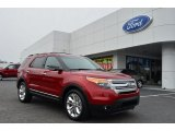 2013 Ruby Red Metallic Ford Explorer XLT #77635131