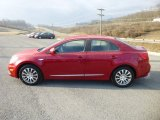 2013 Suzuki Kizashi Ablaze Red Metallic
