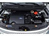 2013 Ford Explorer XLT 4WD 3.5 Liter DOHC 24-Valve Ti-VCT V6 Engine