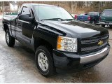 2008 Chevrolet Silverado 1500 Z71 Regular Cab 4x4 Data, Info and Specs