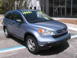 2007 Glacier Blue Metallic Honda CR-V LX #7736348