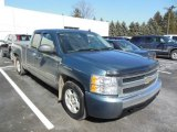 2008 Blue Granite Metallic Chevrolet Silverado 1500 LT Extended Cab #77635567