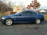 2002 Topaz Blue Metallic BMW 3 Series 330i Coupe #77635270