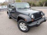 2007 Jeep Wrangler Unlimited Steel Blue Metallic