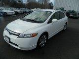 2007 Taffeta White Honda Civic LX Sedan #77635503