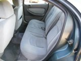 2002 Chrysler Sebring LX Sedan Rear Seat