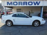 2003 Oxford White Ford Mustang V6 Coupe #77635096