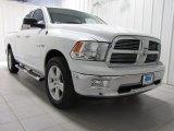 2010 Stone White Dodge Ram 1500 Big Horn Quad Cab 4x4 #77635336