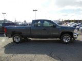 2013 Blue Granite Metallic Chevrolet Silverado 1500 Work Truck Extended Cab #77635173