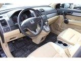 2011 Honda CR-V EX-L 4WD Ivory Interior