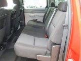 2010 Chevrolet Silverado 1500 Crew Cab 4x4 Rear Seat