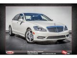 2013 Diamond White Metallic Mercedes-Benz S 550 Sedan #77674925