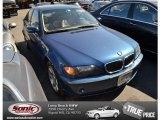 2002 Topaz Blue Metallic BMW 3 Series 325i Sedan #77675215