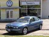 2002 Jaguar X-Type Adriatic Blue Metallic