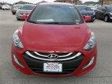 2013 Volcanic Red Hyundai Elantra GT #77674997