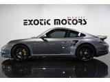 2012 Meteor Grey Metallic Porsche 911 Turbo S Coupe #77675574