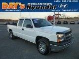 2005 Summit White Chevrolet Silverado 1500 LS Extended Cab 4x4 #77675487