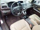 2012 Honda CR-V EX-L Beige Interior