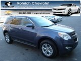 2013 Atlantis Blue Metallic Chevrolet Equinox LT AWD #77675556