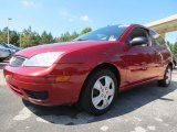 2005 Sangria Red Metallic Ford Focus ZX3 SE Coupe #77675470
