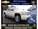 2013 White Diamond Tricoat Chevrolet Silverado 1500 LTZ Crew Cab 4x4 #77675546
